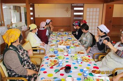 家庭の料理教室